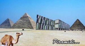 Le piramidi di Giza...