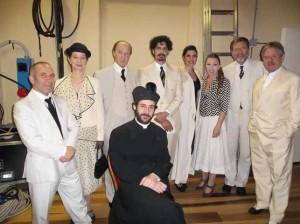 Il cast del Bell'Antonio al Montand