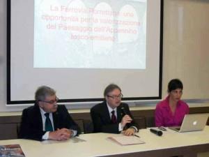 Sergio Ferroni, Gianluca Chelucci e Olga-Agostini