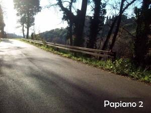 Via Montalbano verso Papiano