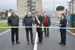 Bertinelli inaugura il parcheggio di Pistoia Ovest