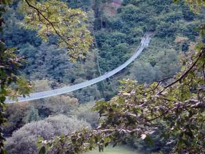 Ponte Sospeso sul torrente Lima