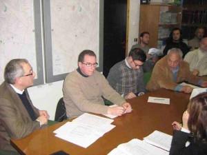 La Commissione Ambiente di Agliana in seduta