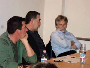 Claudio Casadio, Saverio Barsanti e Giulio Scarpati