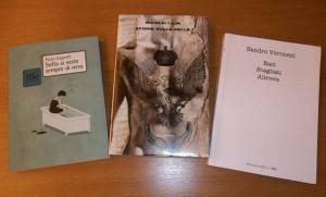 I libri dei tre finalisti