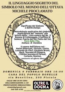 Michele Proclamato, locandina