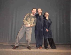 Roberto Caccavo, Marco Natalucci e Gianna Deidda