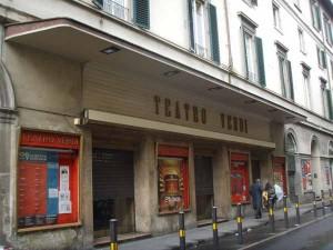Il Teatro Verdi a Firenze in via Ghibellina