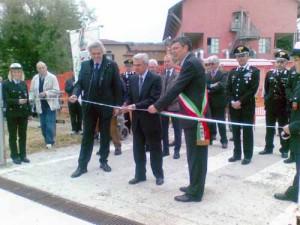 A Abbadia San Salvatore Marroni inaugura la piazzola dell'elisoccorso