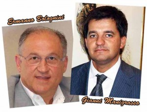 Ermanno Bolognini e Gianni Manigrasso