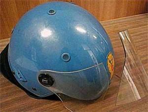 Un casco malconcio...