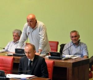 Cialdi parla in Consiglio