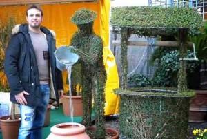 Luca Romiti e l'arte topiaria