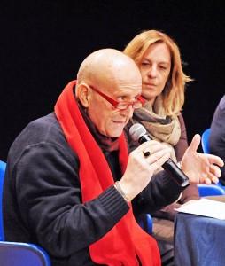 Marco Vettori con Federica Fratoni, Presidente della Provincia di Pistoia