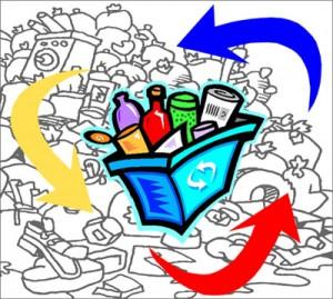 Raccolta differenziata: centro rifiuti