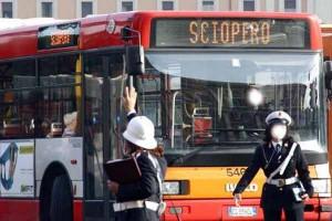 Sciopero dei mezzi pubblici