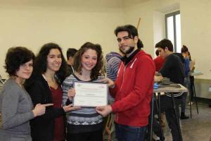 Allievi del Liceo Artistico premiati da Culturidea