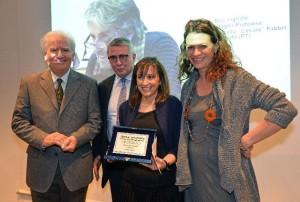 Martina Vacca riceve il premio