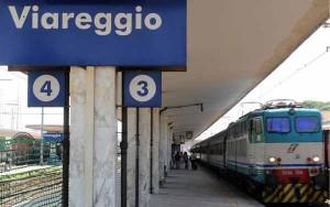 La stazione di Viareggio