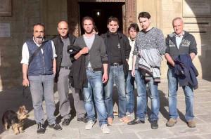 Gli 'invisibili' sotto il loggiato del Palazzo di Giano