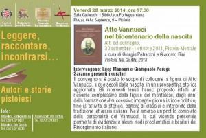 Un volume per il convegno su Atto Vannucci