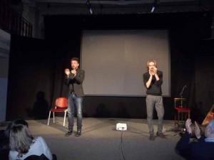 Andrea Scanzi e Giulio Casale al Francini