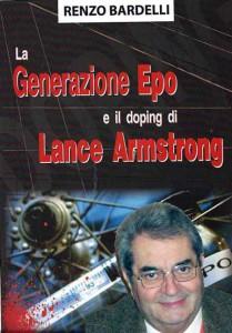 La copertina del libro con l'aggiunta della foto di Renzo Bardelli