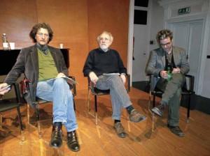 Federico Tiezzi, Gabriele Rizza e Franesco Colella