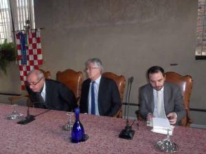 Giampaolo Pagliai, Claudio Martelli e Samuele Bertinelli
