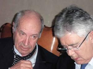 Giampaolo Pagliai e Claudio Martelli