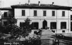 Un'antica cartolina del Caselli