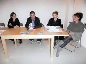 Renata Palminiello, Saverio Barsanti, Alessia Innocenti e Lisa Cantini