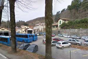 L'area della stazione del Copit a San Marcello