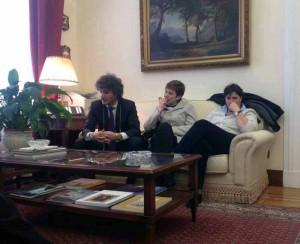Gli Onn. Bini e Fanucci al Ministero dell'Interno