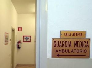 La guardia medica è chiusa