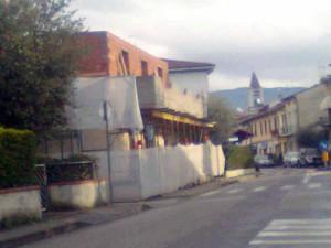 Una costruzione 'anomala' in via Matteotti?