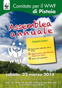 Il volantino dell'assemblea di marzo