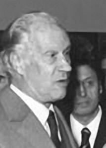 Marino Marini e, dietro, Nilo Negri