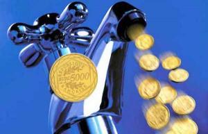 Acqua a peso d'oro