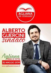 Alberto Guercini, il candidato Sindaco della nuova lista aglianese