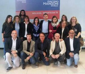 I sostenitori di Mangoni (con qualche ex-Ciampolini)