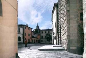 Scorcio di piazza dello Spirito Santo