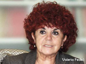 La Sen. Pd Valeria Fedeli