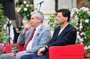 Il Direttore Giovanni Capecchi (a destra)