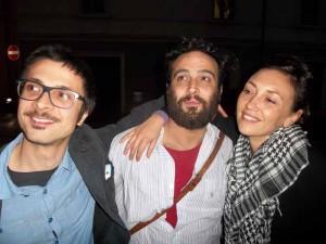 Francesco Rotelli, Luca Zacchini e Francesca Sarteanesi