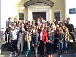 I ragazzi dello scambio a San Pietroburgo