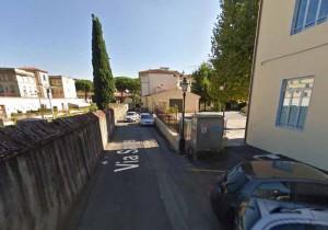 Via Santa a Pistoia