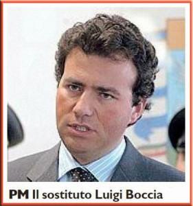 Il dott. Luigi Boccia [La Nazione]. È titolare dell'inchiesta che sta andando avanti