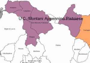 Fig. 2 - L'Unione dei Comuni Montagna Pistoiese