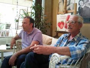 Federico Gorbi e Patrizio Rafanelli